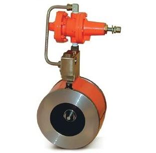 Регулятор давления осевой с эластичным затвором РДО-1-100-100