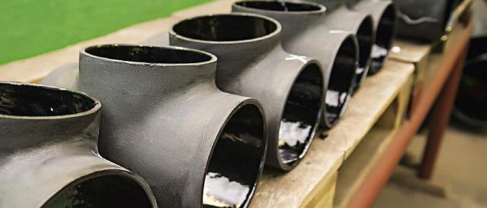 Эпоксидное покрытие трубопровода и элементов